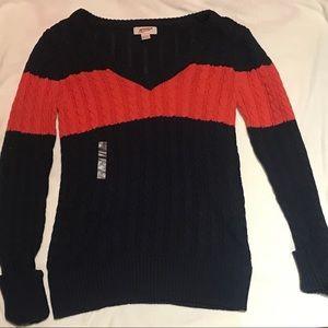 Preppy V Neck Sweater